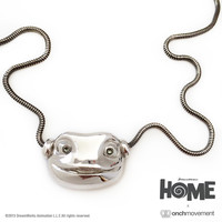 Onch Movement — Oh Necklace (Silver tone)