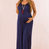 Easy to Style Maternity Maxi in Navy