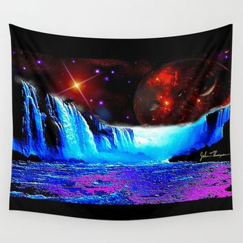 Another world 4  Wall Tapestry by JT Digital Art