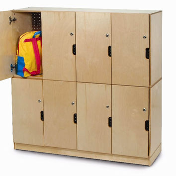 Whitney Brothers Backpack Storage with Locking Doors WB0716
