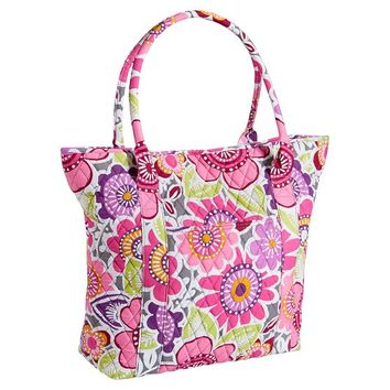 Quilted Sleepover Laura Floral Tote
