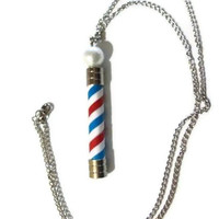 Barber Pole Necklace.Paris Saint Germain.Houston Texans.LA ANGELS.Texas Rangers.Boston Red Sox.Detriot Pistons.Chicago Cubs.Minnesota Twins.