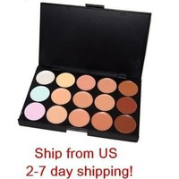 New 15 Color Professional Makeup Camouflage Concealer Palette US SHIP! [8096939655]