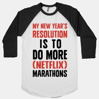 My New Year's Resolution Is To Do More Netflix Marathons