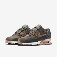 The Nike Air Max 90 Leather Women's Shoe.