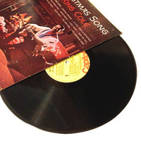 OCTOBER SALE LP Album Nat King Cole The Christmas Song Vinyl Record Re Issue Away On A Manger
