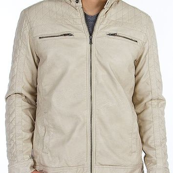 BKE Dry Creek Faux Leather Jacket