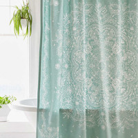 Cece Lace Shower Curtain - Urban Outfitters