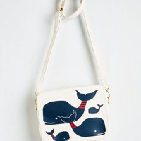 Nautical Doing Whale These Days Bag by Kling from ModCloth