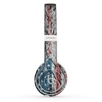 The Aged and Wrinkled American Flag Skin Set for the Beats by Dre Solo 2 Wireless Headphones