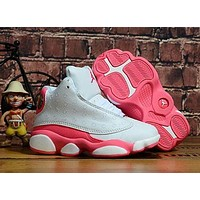 Nike Jordan Girls Boys Children Baby Toddler Kids Child Breathable Sneakers Sport Shoe-10