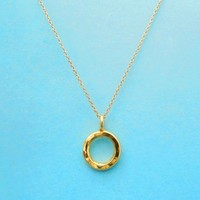 Hand, Hammered, Gold filled, Sterling silver, Karma, Ring, Necklace