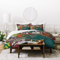 Valentina Ramos Alexis And The Flowers Duvet Cover