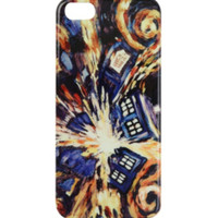 Doctor Who Exploding TARDIS iPhone 5/5S Case