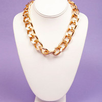 Single Chain Curb Necklace $9