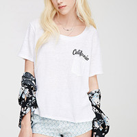 California Slub Knit Tee