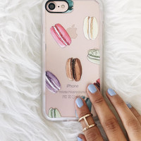 Girly iPhone 7 & 7 Plus Case (Macaron Shuffle Pattern) by Casetify