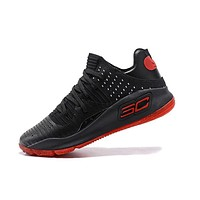 Under Armour UA Men's SC30 Stephen Curry 4 Red Black Sport Sneaker