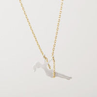 Girl on the Swing Necklace