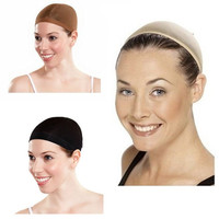 Stretchable Wig Hair Control Net Cap Mesh Stocking for Fancy Party Costume Dress = 5658547841