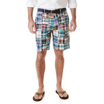 Cisco Short in Village Patch Madras by Castaway Clothing