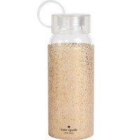 kate spade new york Gold Glitter Water Bottle
