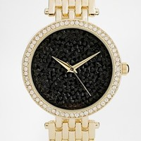 ALDO Astaleniel Rhinestone Surround Watch at asos.com