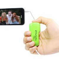 TheSelfie by GabbaGoods - Camera Remote Shutter Release for Apple iPhone, iPad, and iPod touch - Green