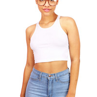 Trainer Crop Top   Basic Tops at Pink Ice