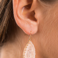 What's It All About Earrings, Rose