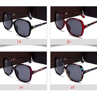 LV Trending Women Stylish Summer Sun Shades Eyeglasses Glasses Sunglasses I12881-1