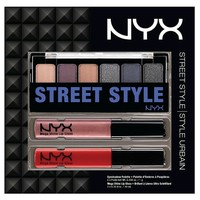 NYX .695oz Cosmetic Gift Set 3pc LOOKSET05 Rebel