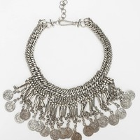 Metal Mesh Coin Necklace - Urban Outfitters