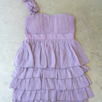 Falling Sweetly Dress in Lavender [2919] - $31.94 : Vintage Inspired Clothing & Affordable Fall Frocks, deloom | Modern. Vintage. Crafted.