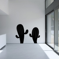 Vinyl Wall Decal Sticker Set of Cacti #OS_MB308