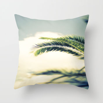 Summer Breeze Throw Pillow by The Dreamery