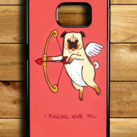 I Pug Love Samsung Galaxy S6 Edge Case