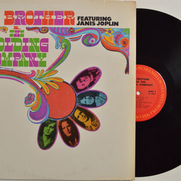 """BIG BROTHER & The Holding Company - """"Self Titled"""" vinyl record"""