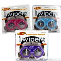 I Wipers Novelty Eyeglasses with Flashing Lights and Attached Wipers, Fun & Unique Gifts