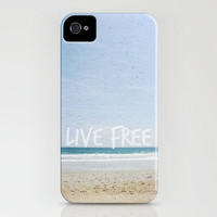 live free iPhone Case by Sarah Noga | Society6