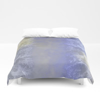 Salted earth abstract- mineral instruction Duvet Cover by anipani
