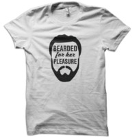 Bearded For Her Pleasure T-Shirt from These Shirts