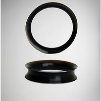 Black Silicone Tunnel Set - Spencer's