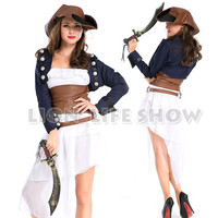 Women Pirate Costumes Halloween Costumes for Women Dress Cosplay LOL