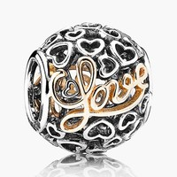 Women's PANDORA 'Message of Love' Charm