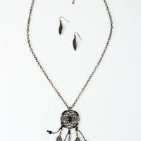 Beaded Dream Catch Necklace