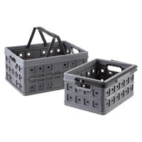 Collapsible Crates with Handles