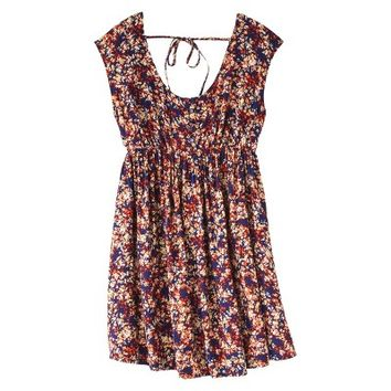 Mossimo Supply Co. Junior's Smocked Babydoll Dress - Assorted Colors