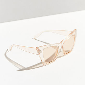 Cash Oversized Cat-Eye Sunglasses   Urban Outfitters