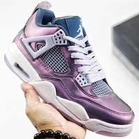 Trendsetter Air Jordan 4 Retro Women Men Fashion Casual Sneakers Sport Shoes